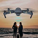 US Fast Shipment Tuscom Multifunction 6 Axis L800 Quadcopter , FPV Foldable Selfie Drone RC 2.4G HD Camera WiFi FPV ,and 2 Cameras 2.0 mp Wide Angle Camera for Pictures and Video (Black)
