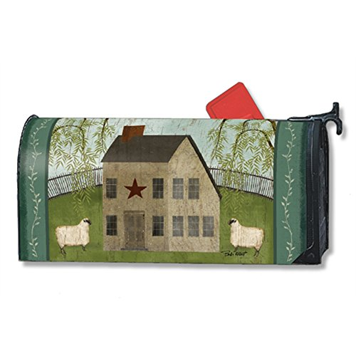 Peace Sheep - Peace to All LARGE MailWraps Magnetic Mailbox Cover #21466