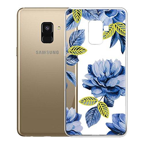 Funda para Samsung Galaxy A8 2018 (SM-A530) , IJIA Transparente Love Pony TPU Silicona Suave Cover Tapa Caso Parachoques Carcasa Cubierta para Samsung Galaxy A8 2018 (5.6) WM116