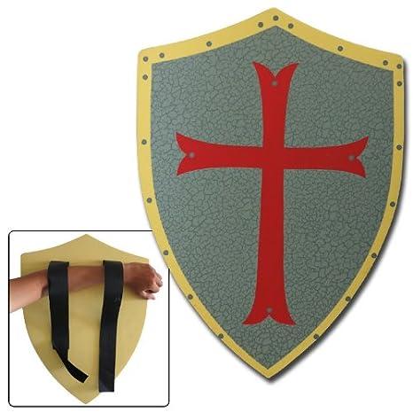 Medieval Knight Crusader Foam Shield