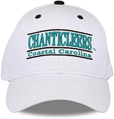 f92565d6 Amazon.com : The Game NCAA Coastal Carolina Chanticleers Unisex NCAA bar  Design Hat TCU, White, Adjustable : Sports & Outdoors