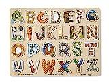 Melissa & Doug Alphabet Art Wooden Puzzle (26 pcs)