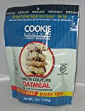 COOKIE COUTURE, CKIE, OG2, HAUTE OATML CC, Pack of 12, Size 5 OZ - No Artificial Ingredients Gluten Free Low Sodium Wheat Free Yeast Free 95%+ Organic