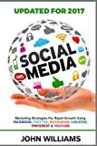 img - for Social Media: Marketing Strategies for Rapid Growth Using: Facebook, Twitter, Instagram, LinkedIn, Pinterest and YouTube book / textbook / text book
