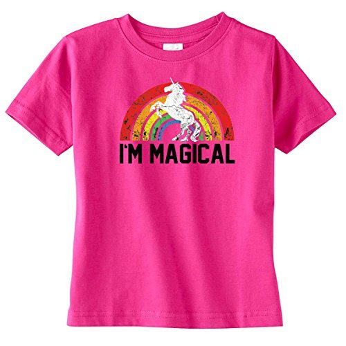 Toddler and Youth Im Magical Unicorn Kids T-Shirt Pink or Grey