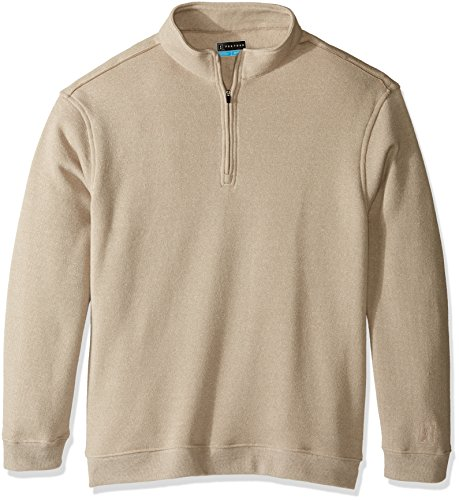 PGA TOUR Men's Big and Tall Elements Long Sleeve 1/4