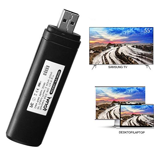 Velidy USB TV Wireless Wi-Fi Adapter,802.11ac 2.4GHz and 5GHz dual-band Wireless Network USB Wifi Adapter for Samsung Smart TV WIS12ABGNX WIS09ABGN 300M by Velidy