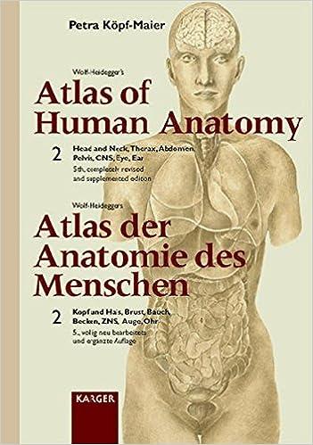 Wolf-Heidegger\'s Atlas of Human Anatomy /Wolf-Heideggers Atlas der ...