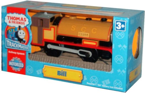 (Thomas and Friends Motorized Trackmaster Railway System Battery Powered Tank Engine : Bill + 1 Track)