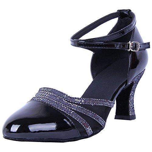 Wealsex Baile Baile Zapatos de Baile Sal de Moderno Mujeres de Zapatos rAgW1rq8