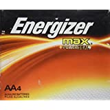 Energizer AA4 energizer max +power seal alkaline batteries- 4 count
