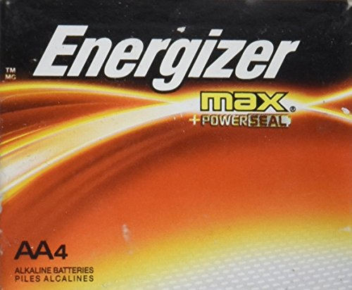 4 Aa Energizer Max Batteries - 5