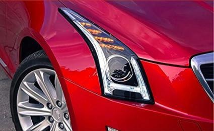 Amazon Com Gowe Car Styling For Cadillac Ats Headlights 2014 2016