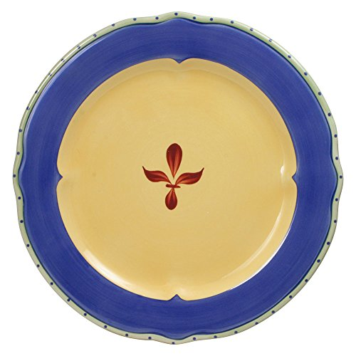 Pfaltzgraff Pistoulet Blue Open Stock Dinner Plate (10-3/4-Inch) (Open Stock Dinnerware Collection)