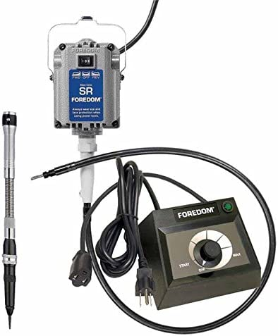 FOREDOM C.EM-1 VARIABLE DIAL SPEED CONTROL FOR FLEX SHAFT TABLE TOP MOTOR 115V