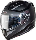 Steelbird SA-1 7Wings Aeronautics Full Face Helmet in Matt Finish (Large 600 MM, Matt Axis Grey with Plain Visor)