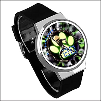 Ladybug Reddy Miraculous Ladybug Ladybug Black Cat Touch LED Creativo a Prueba de Agua: Amazon.es: Relojes
