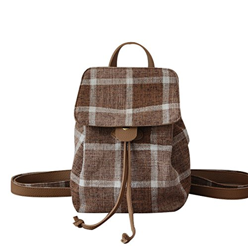 Wfyjy-fabric Drawstring Backpack Style Shoulder Bag Simple Fashion Bag Ba