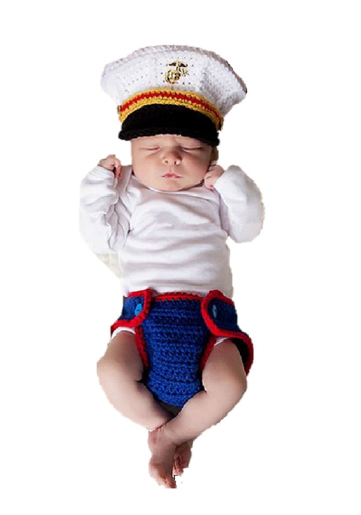 Newborn Baby Girl/Boy Crochet Knit Costume Photography Prop Outfits