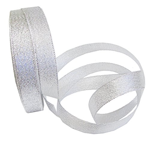 - Silver Ribbon Metallic, 25 Yard 1