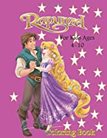 Rapunzel, colouring book