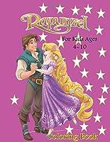 Rapunzel, colouring book