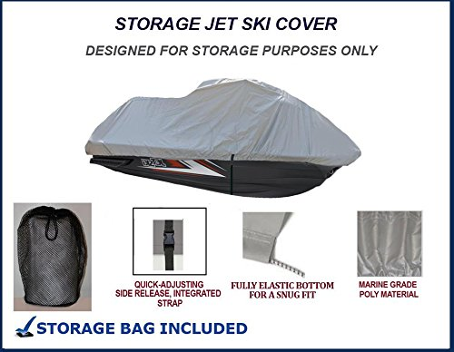 STORAGE Tiger Shark 1100L 1998 1999 Jet Ski PWC Cover 3 Seater 126'' by StopByUs (Image #1)