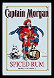 Mouse Company Captain Morgan Rum printed Mirror with Plastic Frame Iconic Mirror 20 x 30 cm