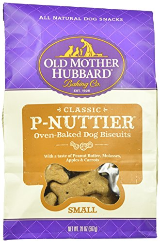 P-nuttier Biscuits - WELLPET 634413 6-Pack Extra Tasty P-Nuttier Biscuits, Mini, 20-Ounce