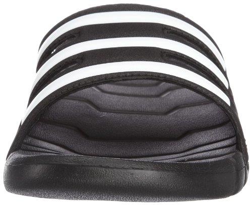 adidas Proveto Unisex-Erwachsene Dusch & Badeschuhe Schwarz (Black 1/White/Black 1)