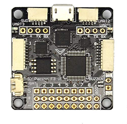 Deluxe 10DOF Laliva Sp Pro Racing F3 Flight Controller Board Cleaflight 6dof 10dof Deluxe with Brano for FPV 250 280 210 180 Quadcopter &rc Planes  (color  Standard 6DOF)
