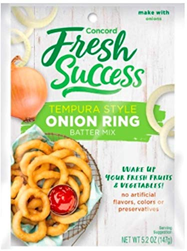 Concord Foods Onion Ring Batter Mix, 5.2-ounce pouch (5 total servings per pouch)