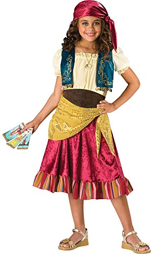 Kids-Costume Gypsy Child Sz 8 Halloween Costume - - Child Gypsy Costume