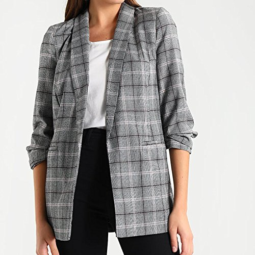 Miss Selfridge CHECK Damen Blazer Sakko Gr 44