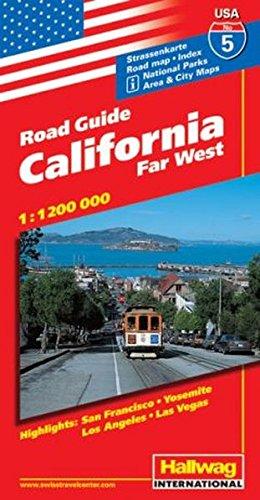 Hallwag USA Road Guide, No.5, California (Hallwag Strassenkarten)