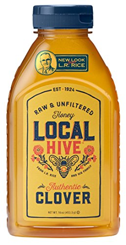- Local Hive Authentic Clover Raw & Unfiltered Honey, 16oz