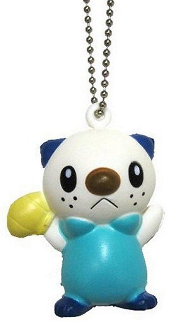 Amazon.com: Pokemon Blanco y Negro Llavero de espuma suave ...