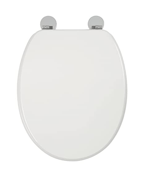 wooden white toilet seat. Croydex Flexi Fix Kielder Always Fits Never Slips Toilet Seat  Wood White