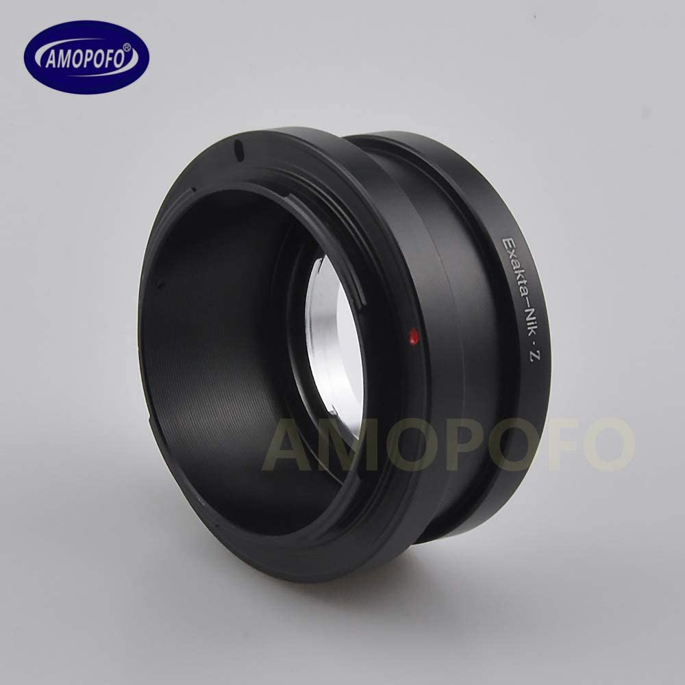 Silver NEX to NikonZ Lens Mount Adapter Ring for Sony NEX E-Mount Lens to for Nikon Z Mount Camera Z6 Z7