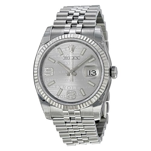Rolex Datejust Automatic Silver Dial Stainless Steel Watch