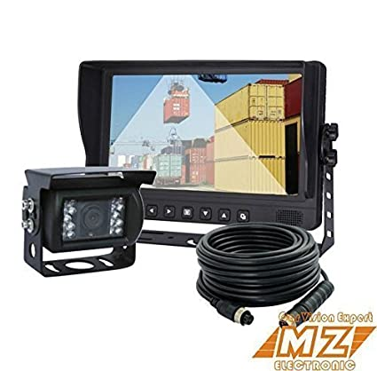 "9/"" Rear View Back Up Camera Video System Agriculture Observation Camera Safety"