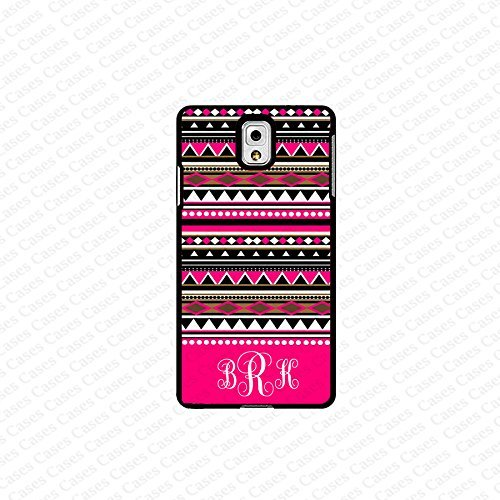 krezy case monogram Galaxy Note 4 case- monogram Personalized aztec pattern samsung Galaxy Note 4 case- fits note...