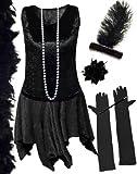 Product review for Sanctuarie Designs Plus Size Black Flapper Supersize Costume Deluxe Kit