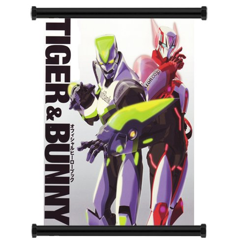 Tiger and Bunny Anime Fabric Wall Scroll Poster Wp -Tiger and Bunny-6 L