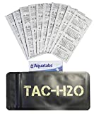 TAC-H2O Refill - 100 Aquatab Water Purification Tablets - By Tac-Bar Tactical Food Rations