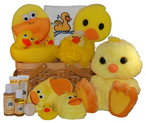 Lucky Ducky Baby Spa Gift Basket - Large