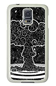 Best-Diy Graphics Tree Art Custom Samsung Galaxy S5/Samsung S5 aDFSUuoec8z case cover Polycarbonate White