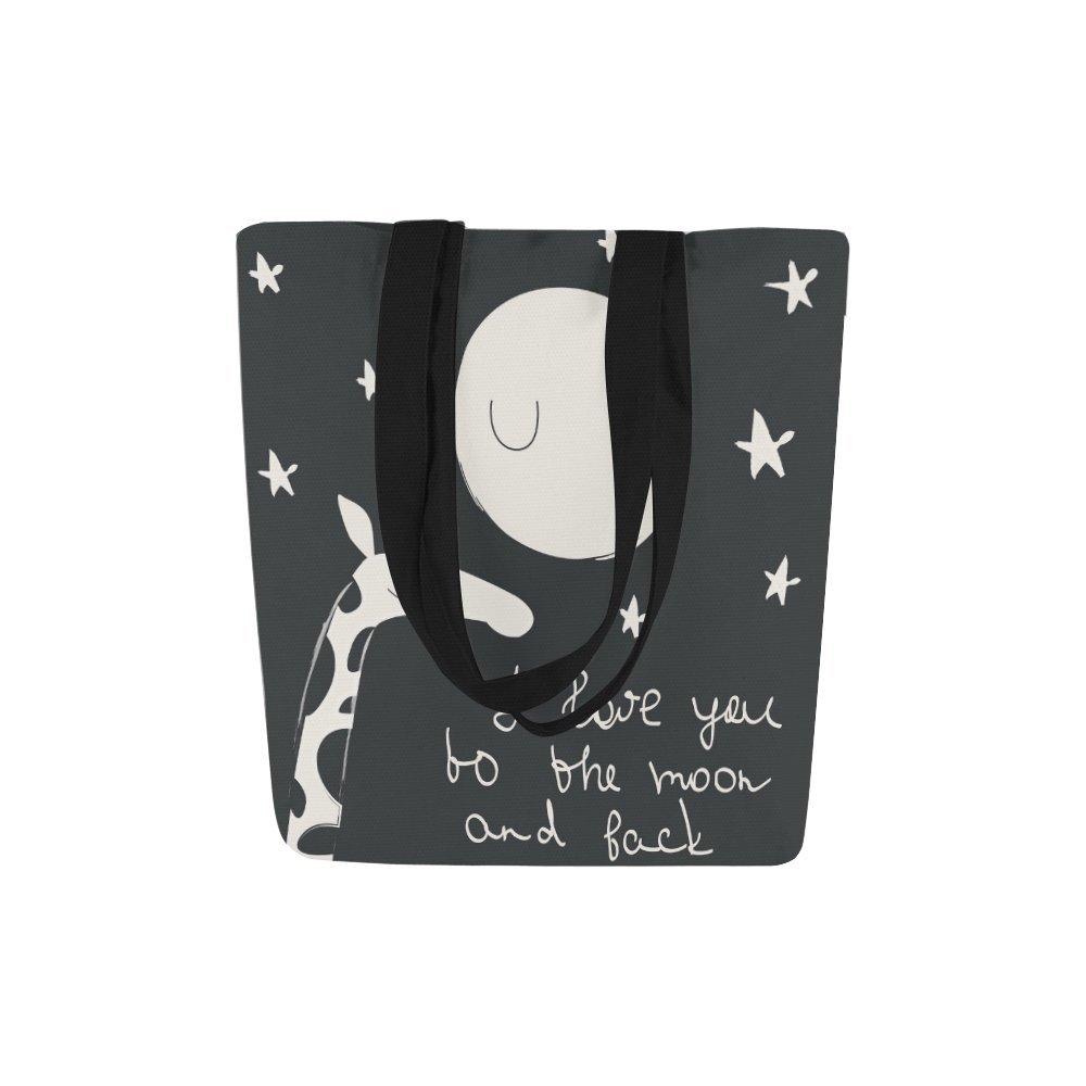 interestprintカスタムキャンバストートバッグショルダーバッグハンドバッグGrocery Bag for School、ショッピング、旅行 B0778MPKL4 マルチ1