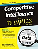 img - for Competitive Intelligence for Dummies book / textbook / text book