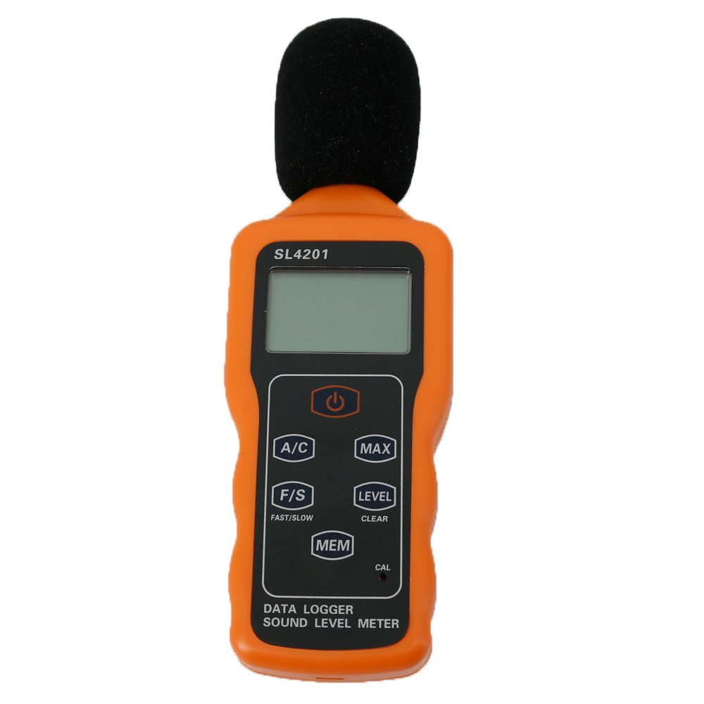 Graigar SL4201 Digital Sound Level Meter Decibel Data Logger 30-130dB